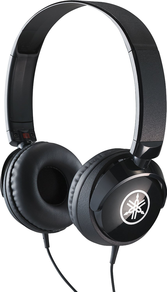 Yamaha HPH-50 Entry Level Instrument Headphones, Black - Bananas at Large - 1