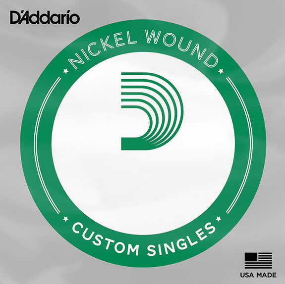 D'Addario NW048 Single Nickel Wound Electric Guitar String