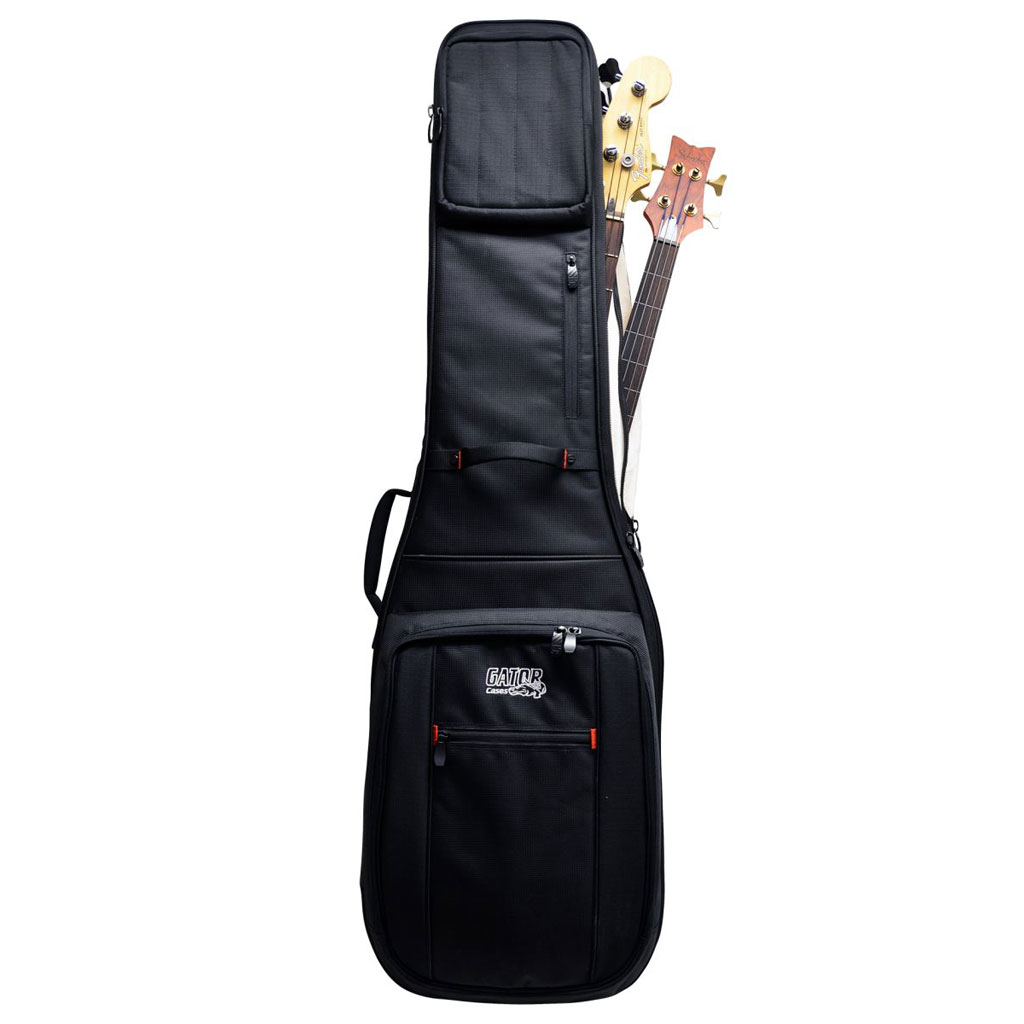 Pro-Go series 2X bass bag with micro fleece interior and removable backpack straps - Bananas at Large