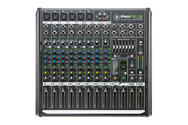 Mackie ProFX12v2 12-Channel USB Mixer - Bananas at Large - 1