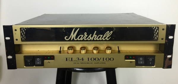 Marshall EL34 100/100 Dual Monobloc Amplifier  (Neal Schon Private Collection) (Pre-Owned) - Bananas at Large