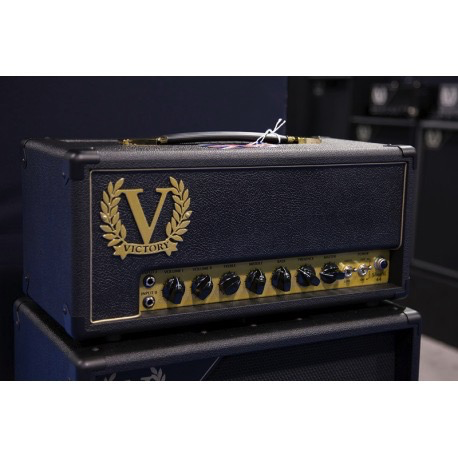 Victory Amplification Sheriff 44 Hand Wired 44 watt All Valve Tube Head - Bananas at Large - 4