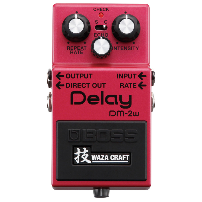Boss DM-2W Delay Waza Craft Special Edition Pedal - Bananas at Large - 2