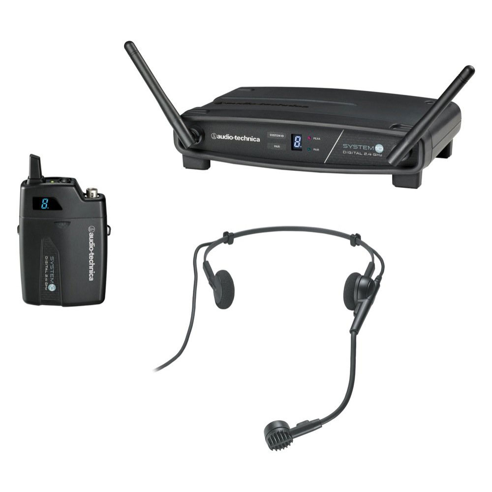 Audio Technica ATW-1101/H Wireless Headset Microphone System - Bananas At Large®