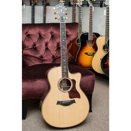 Taylor 816ce GS Cutaway Electric with Case, ES2 - Bananas at Large