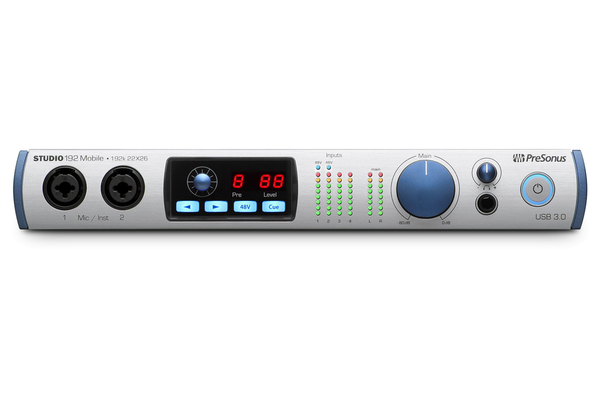 Presonus Studio 192 Mobile USB Audio Interface and Studio Command Center - Bananas at Large - 1