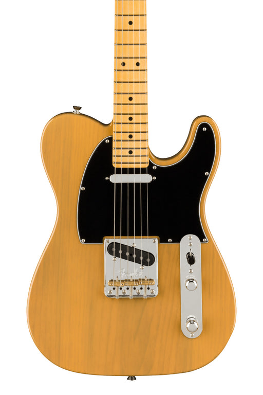 Fender American Professional II Telecaster, Maple Fingerboard - Butterscotch Blonde