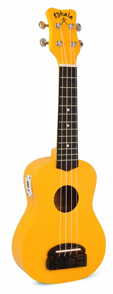 Lanikai KT-STYE SOPRANO TIKI YELLOW W/TUNER - Bananas at Large - 1