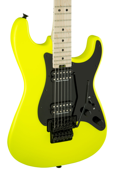 Charvel Pro-Mod So-Cal Style 1 HH FR with Maple Fingerboard - Neon Yellow
