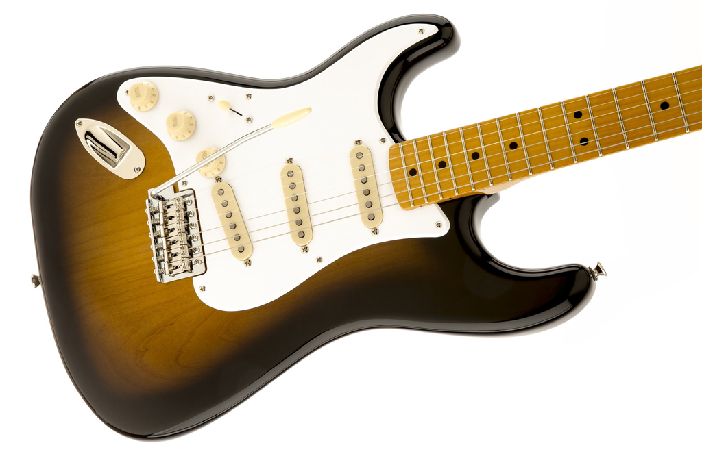 Squier Classic Vibe Stratocaster 50s Left-Handed - Two Color Sunburst - Bananas at Large - 3