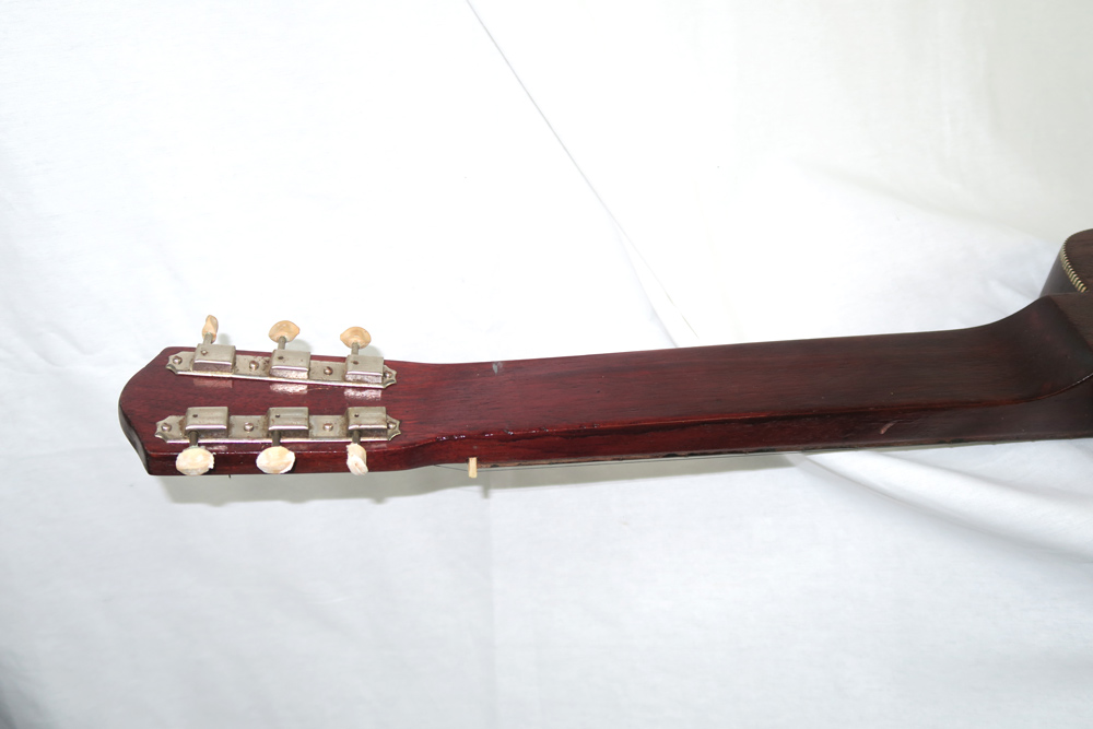 Oahu Tonemaster 1953 Six String Lap Steel with Snake Case (Jeffrey Cohen) (Pre-Owned) - Bananas at Large - 5