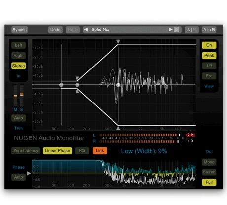 NUGEN Audio Monofilter [Download] - Bananas at Large