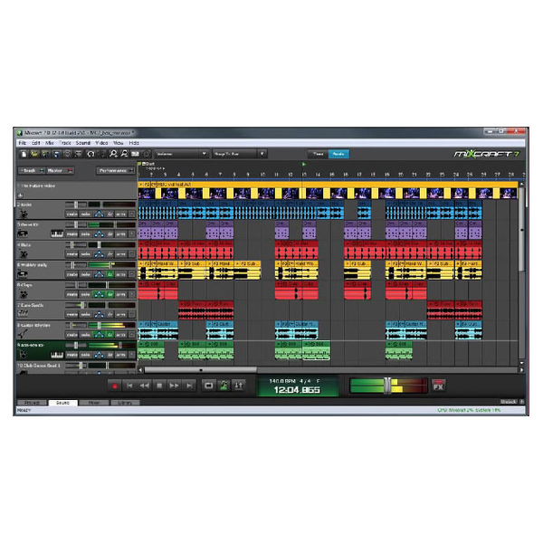 Acoustica Mixcraft 7 Multi-Track Recording Workstation [Download] - Bananas At Large®
