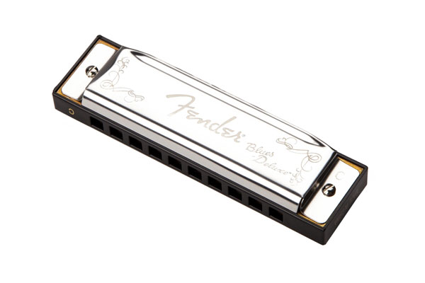 Fender Blues Deluxe Harmonica, Key of C - Bananas at Large - 1