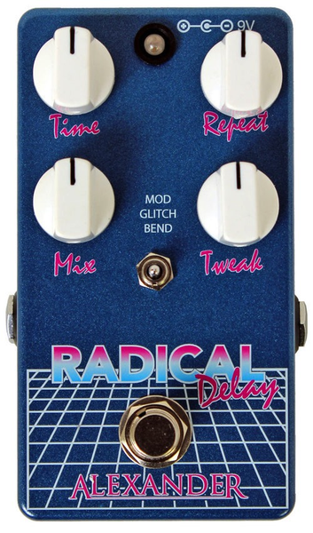 Alexander Pedals Radical Delay Pedal - Bananas at Large