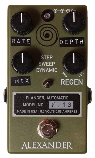 Alexander Pedals F-13 Flanger Pedal - Bananas at Large