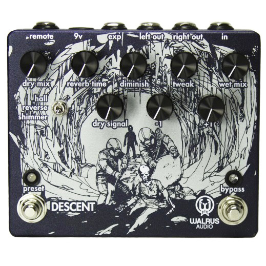 Walrus Audio Descent Reverb Octave Pedal - Bananas at Large