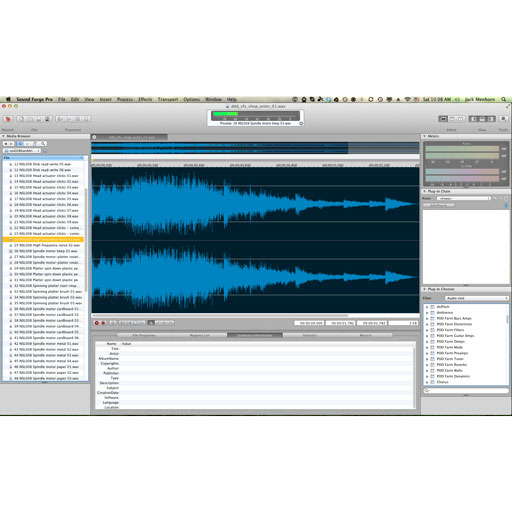 Sony Sound Forge Pro Mac 2 [Download] - Bananas at Large