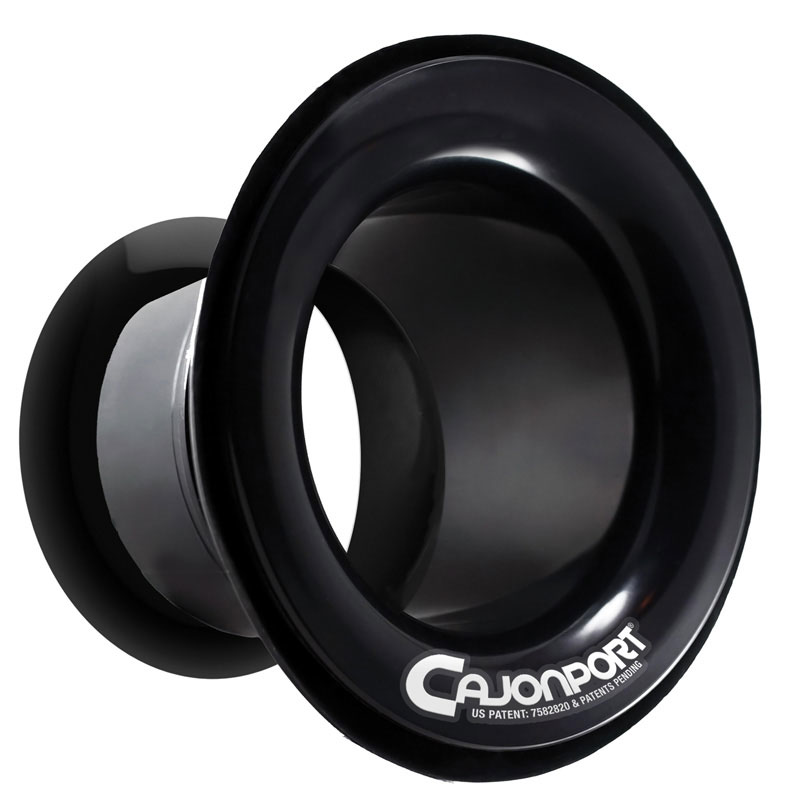 DW CajonPort Leading Edge Sound Enhancement for Percussionists - Black - Bananas At Large®