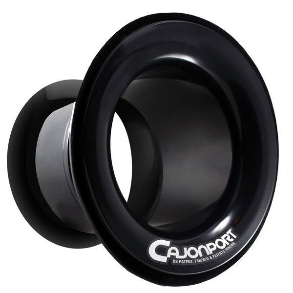 DW CajonPort Leading Edge Sound Enhancement for Percussionists - Black - Bananas at Large