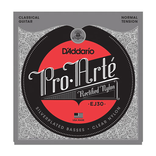 DAddario EJ30 Pro-Arte Rectified Trebles Normal Tension Classical Strings - Bananas At Large®