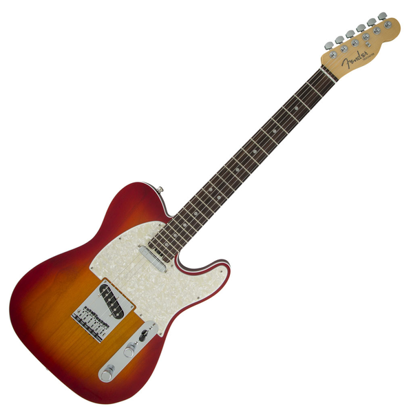 Fender American Elite Telecaster with Rosewood Fingerboard - Aged Cherry Burst - Bananas at Large