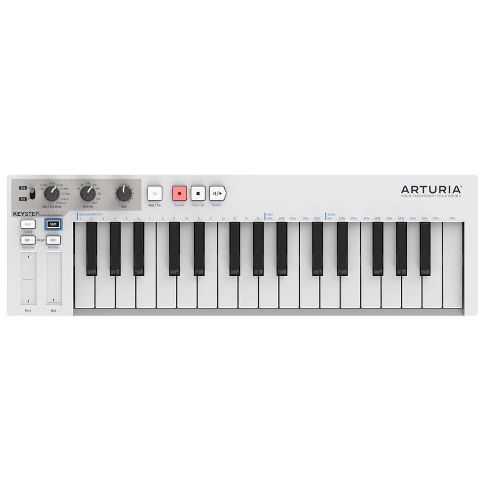 Arturia KeyStep MIDI Controller and Sequencer - Bananas At Large®
