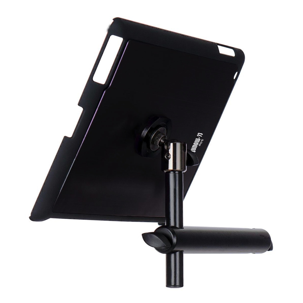On-Stage TCM9160B IPad Snap-On Cover with Mounting Bar - Black - Bananas at Large - 2