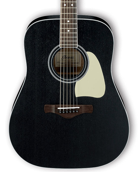 Ibanez AW360WK Artwood Series Dreadnought Acoustic Guitar - Weathered Black