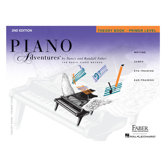 Hal Leonard Piano Adventures Theory Book Primer Level 2nd Edition - Bananas At Large®