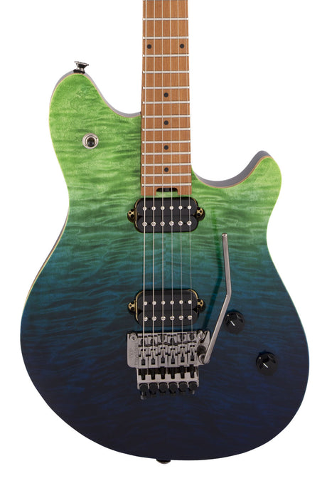 EVH Wolfgang WG Standard Quilt Maple, Baked Maple Fingerboard, Tahiti Night