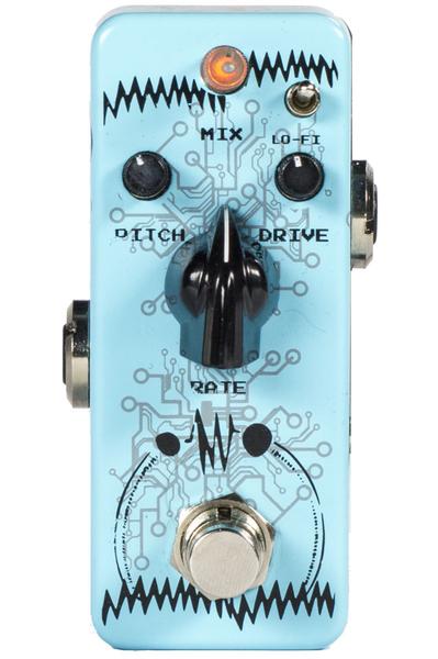 F-PEDALS Robotholic Modulator Boost Drive Effect Pedal - Bananas at Large