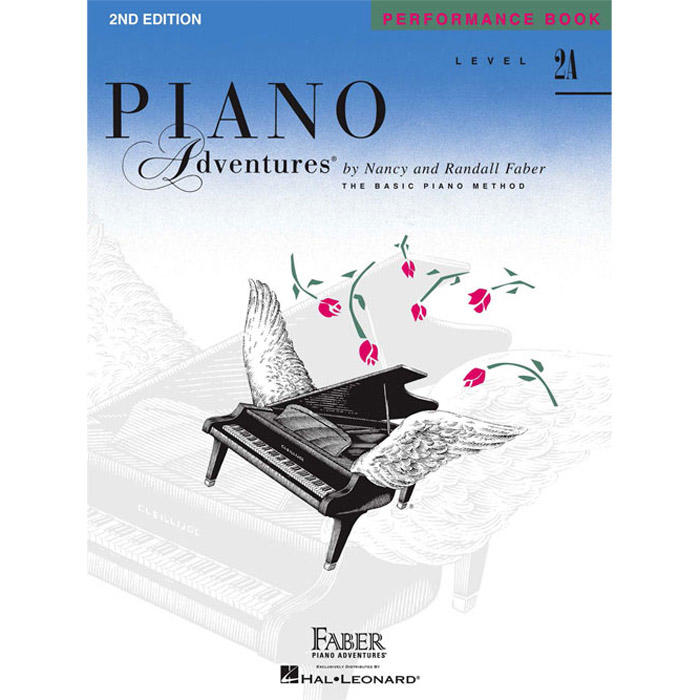 Hal Leonard Piano Adventures Level 2A Peformance Book 2nd Edition - Bananas At Large®