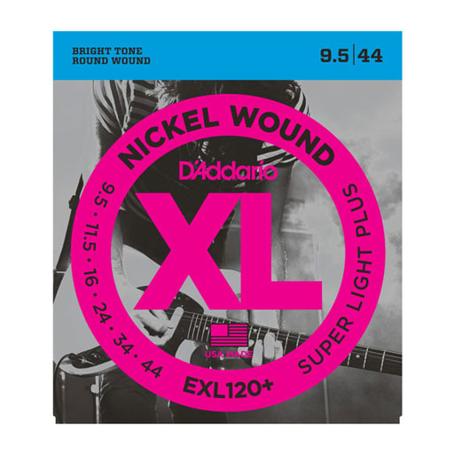 DAddario EXL120+ Nickel Wound Super Light Plus Electric Strings - Bananas At Large®