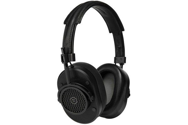 Master & Dynamic MH40B1 Over-Ear Headphone - Black Metal/Black Leather