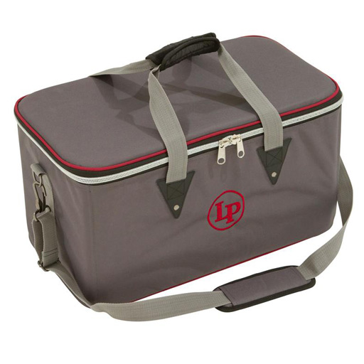 Latin Percussion LP533-UT Ultra Tek Touring Series Padded Bongo Bag - Bananas at Large
