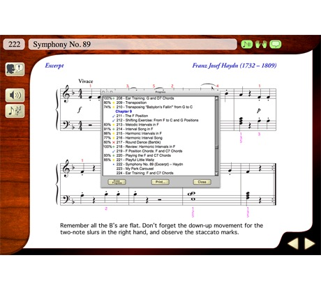 eMedia Piano & Key Method - MAC [Download] - Bananas at Large - 2