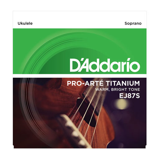 DAddario EJ87S  Soprano Titanium Ukulele Strings - Bananas At Large®