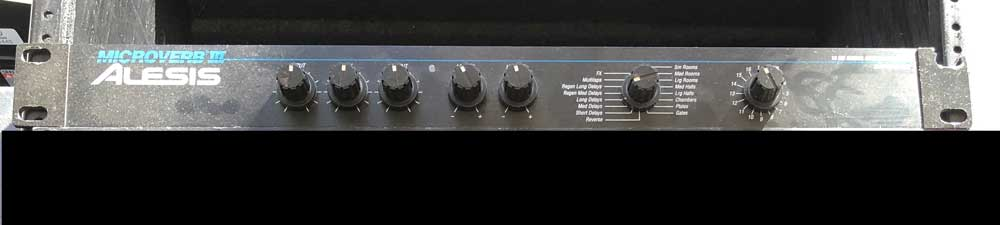 Alesis Microverb 3 Digital Reverb (Pre-Owned)