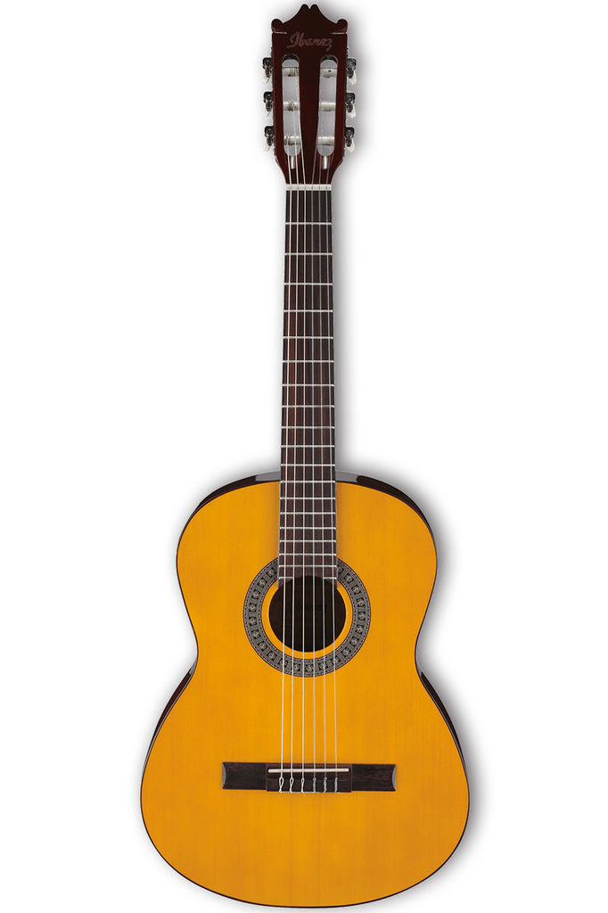 Ibanez GA2 Classical Acoustic Guitar - Natural Low Gloss - Bananas at Large