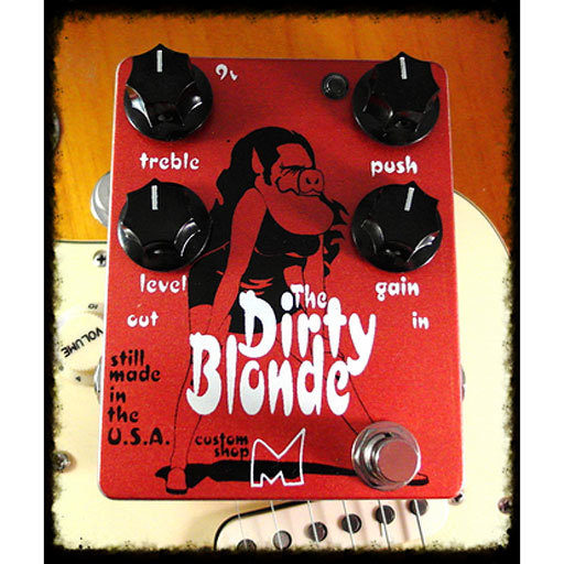 Menatone Dirty Blonde Overdrive Pedal - Bananas at Large