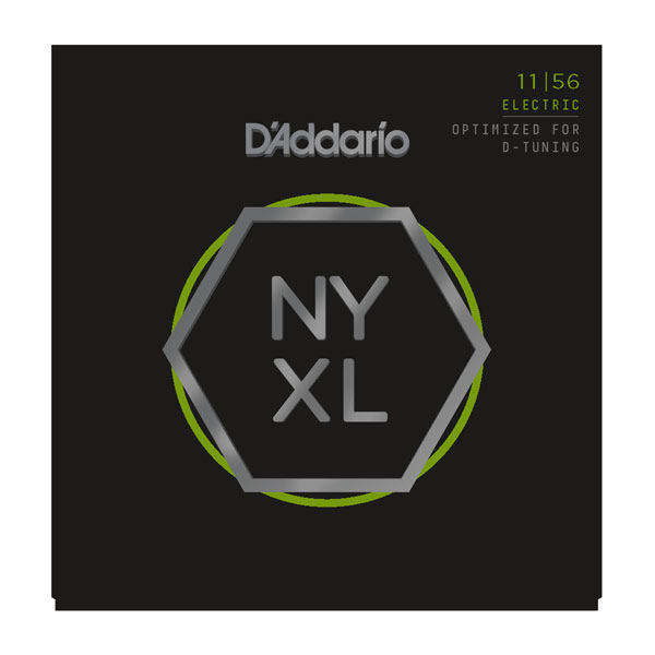 D'Addario NYXL1156 Nickel Wound Medium Top/Extra Heavy Bottom 11-56 - Bananas At Large®