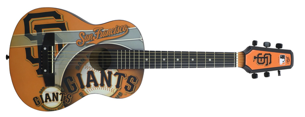 MLB San Francisco Giants 1/2 Size Acoustic with string cover - Bananas at Large