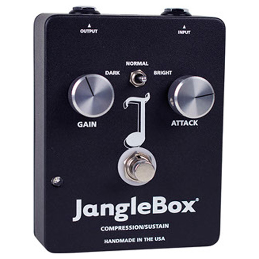 JangleBox Reissue Compression/Sustainer Pedal - Bananas at Large