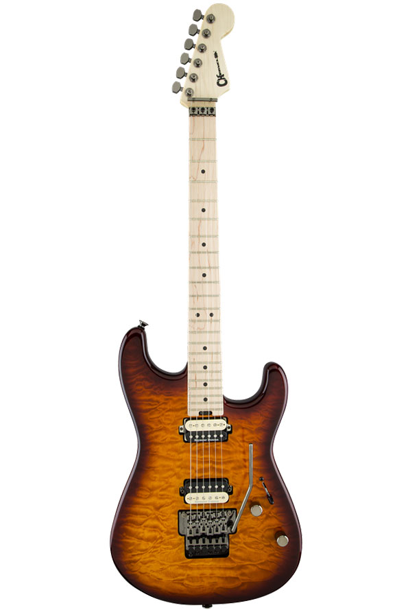 Charvel Pro-Mod San Dimas Style 1 HH FR with Maple Fingerboard - Tobacco Burst - Bananas At Large®