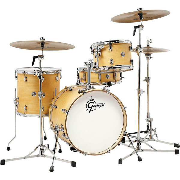 Gretsch CT1-J484-SN Catalina Club Jazz 4 Piece Set - Satin Natural - Bananas at Large