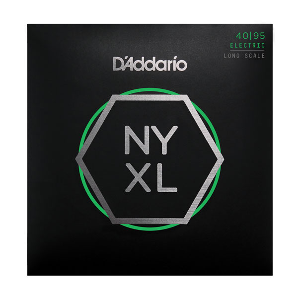 D'Addario NYXL4095 Long-Scale Super Light Bass Strings 40-95 - Bananas At Large®
