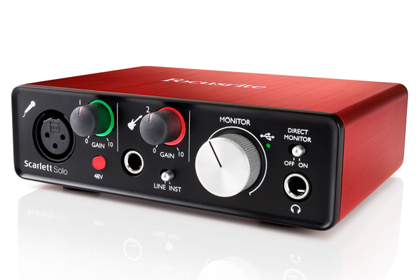 Focusrite Scarlett Solo (2nd Gen) USB Audio Interface - Bananas at Large - 1