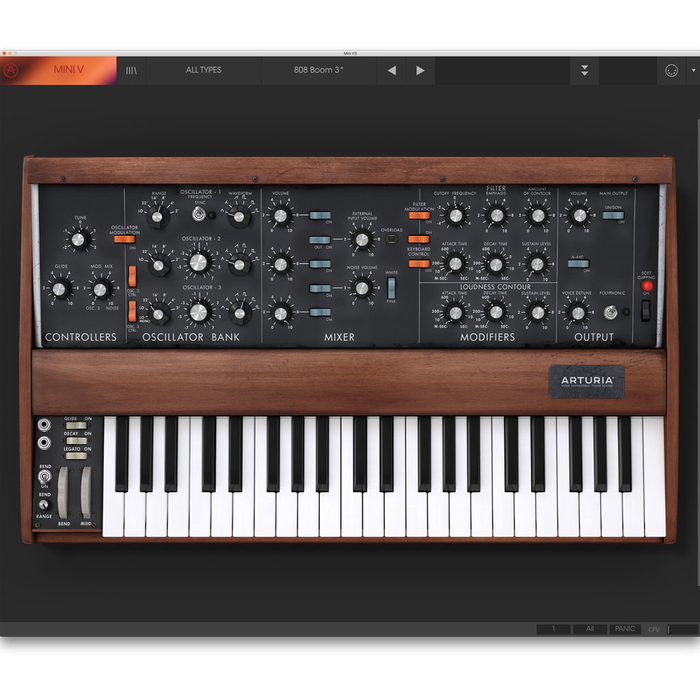 Arturia Mini V3 License Software Instrument [Download] - Bananas At Large®