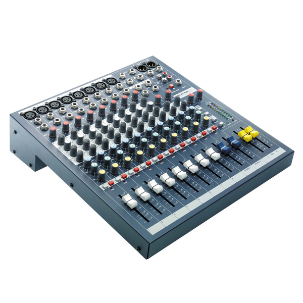 Soundcraft EPM8 Eight Channel Mixer with EQ, 2 Aux Sends and GB30 Preamps - Bananas at Large